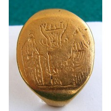 WOW. Huge Roman Solid Pure Gold Wedding Ring