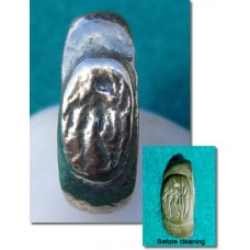 Roman Ring God Mercury