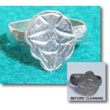 Ancient Byzantine Silver Ring