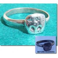 Roman Silver Votive Goddess Juno Ring