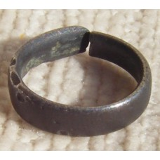Celtic Bronze Finger Ring 450-100 BC