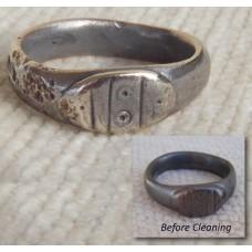 Low Grade Silver Celtic Ring