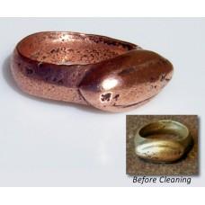 """Celtic Bronze Age """"Balor"""" Evil Eye Ring"""