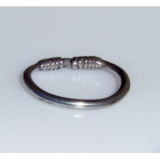 Celtic Silver Wrapped Ring