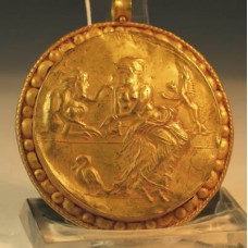 Huge Roman Gold Pendant