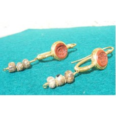 Roman Earrings Gold