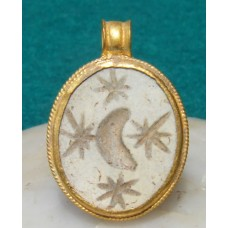 Antique Ancient Roman Gold Pendant Astrological