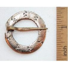 Medieval Bronze Brooch Fibula