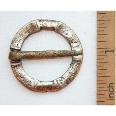 Bronze Medieval Brooch Fibula