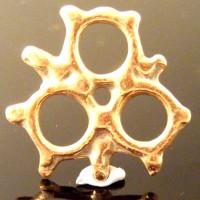Triskelion Pendant Celtic Druid Pagan Bronze Amulet