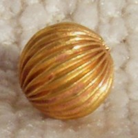 Superb 23k Gold Viking Bead